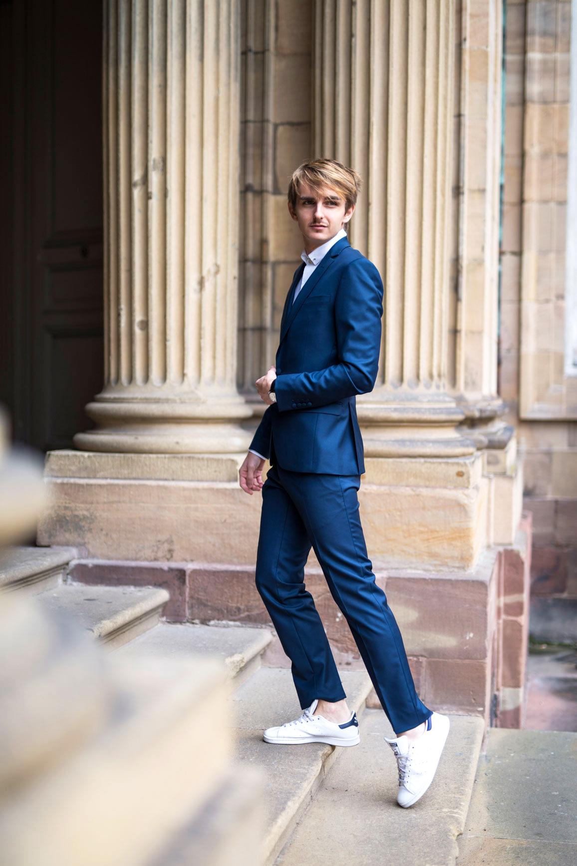 Faubourg Saint Sulpice Suit & Sneakers costume sur mesure