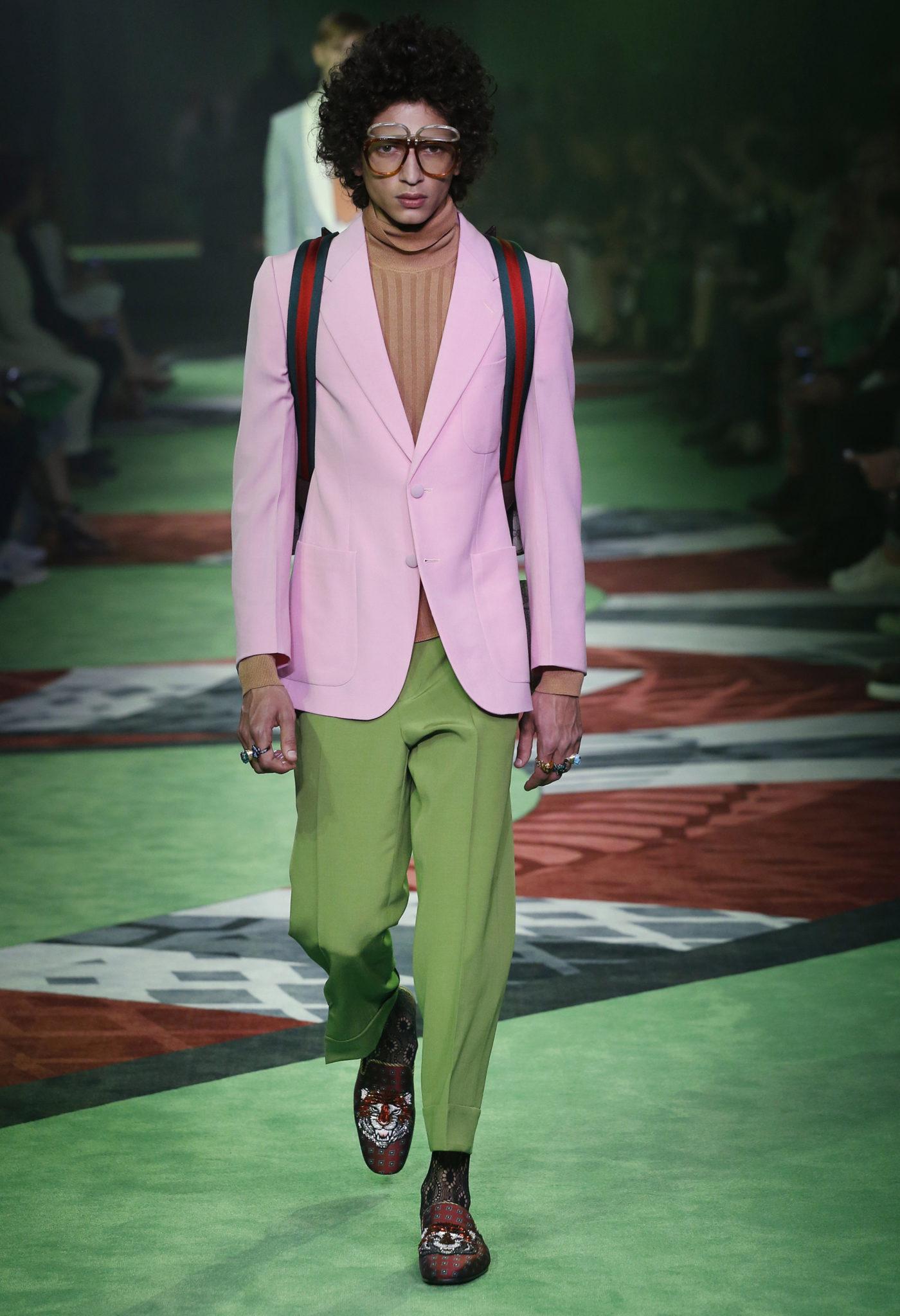 blog-mode-homme-strasbourg-PANTONE-greenery-2017-Menswear-Gucci-3
