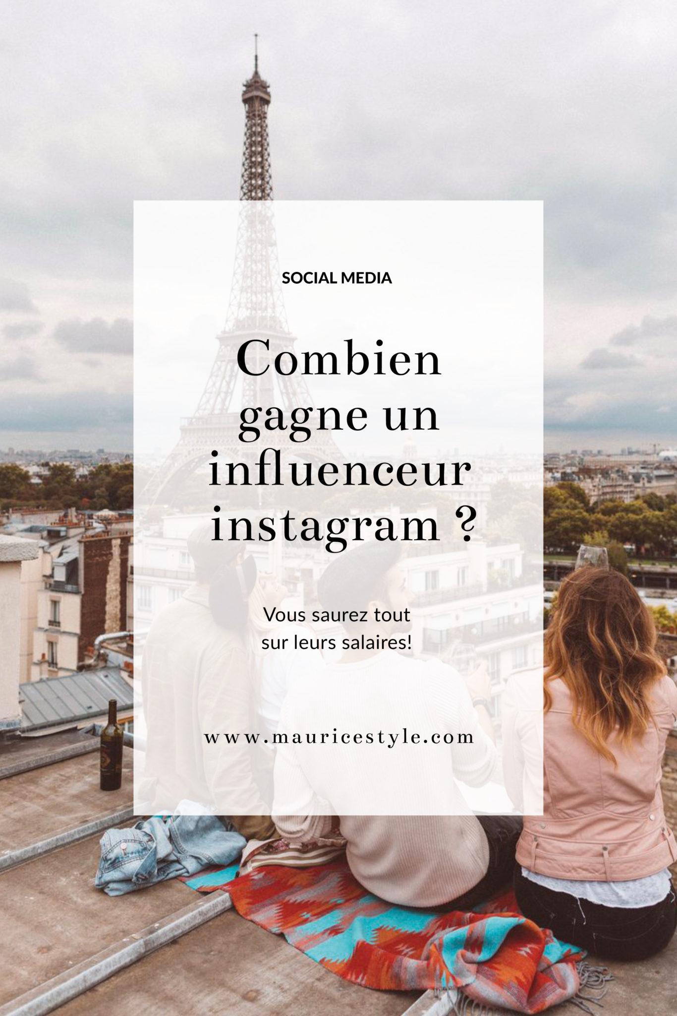 Dans cet article vous découvrirez combien gagne un influenceur sur Instagram ! Vous saurez tout du salaire des blogueurs en fonction de leurs nombres d'abonnés / followers !