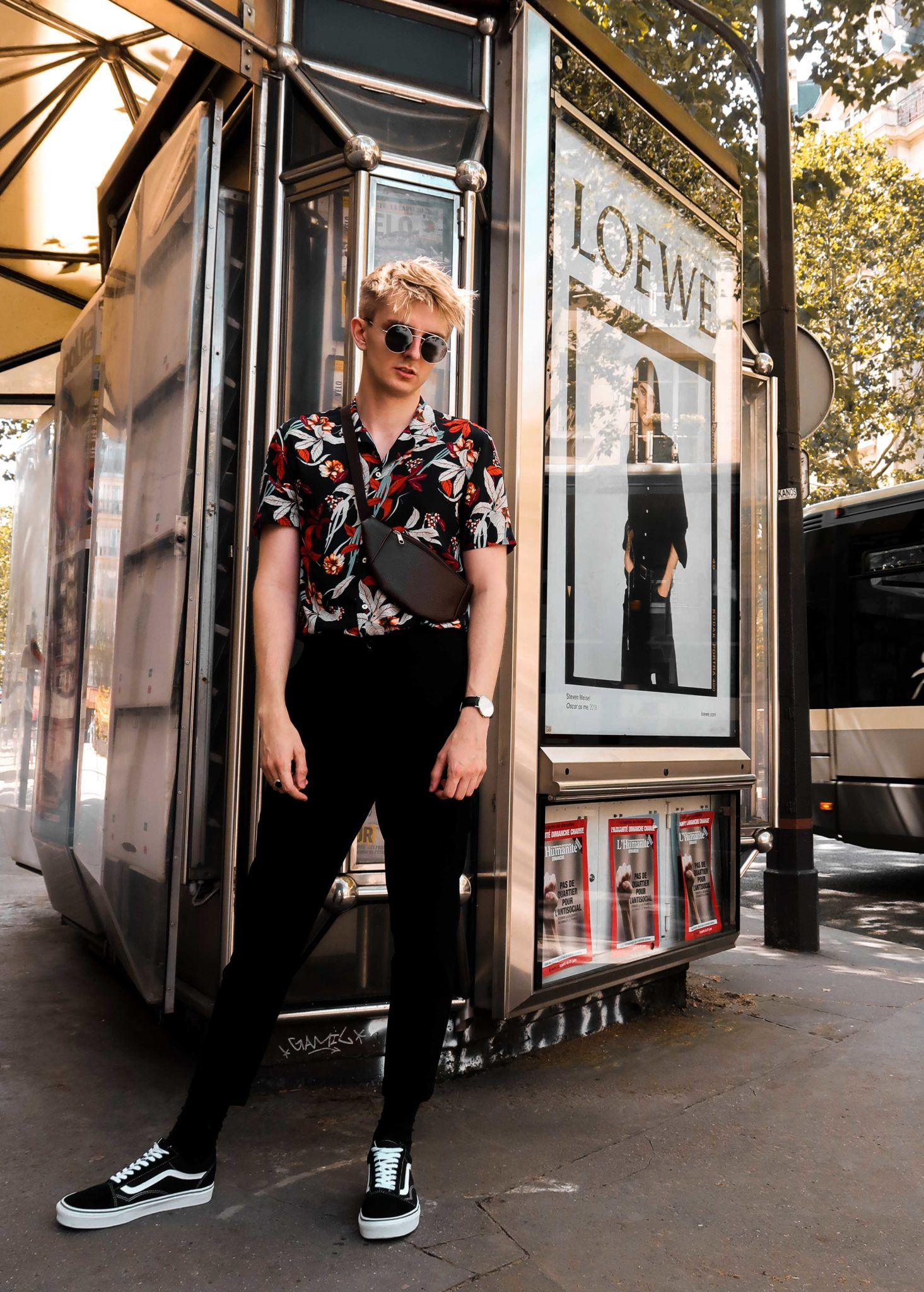 Streetstyle Paris fashion week 2018 men vogue dior maurice Style BLOG MODE HOMME
