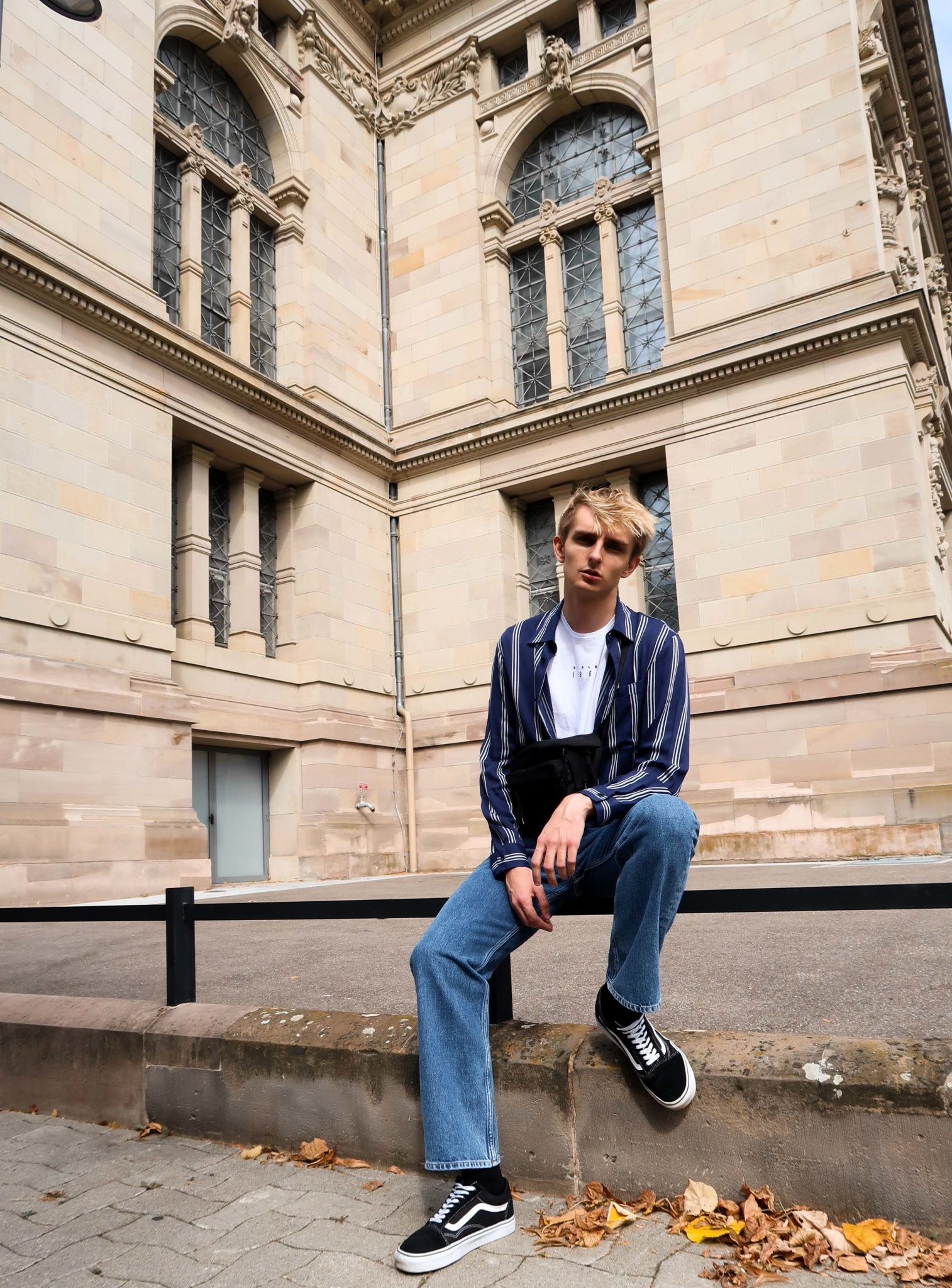 Printemps Strasbourg Maurice Style Blog mode homme Sandro Paris