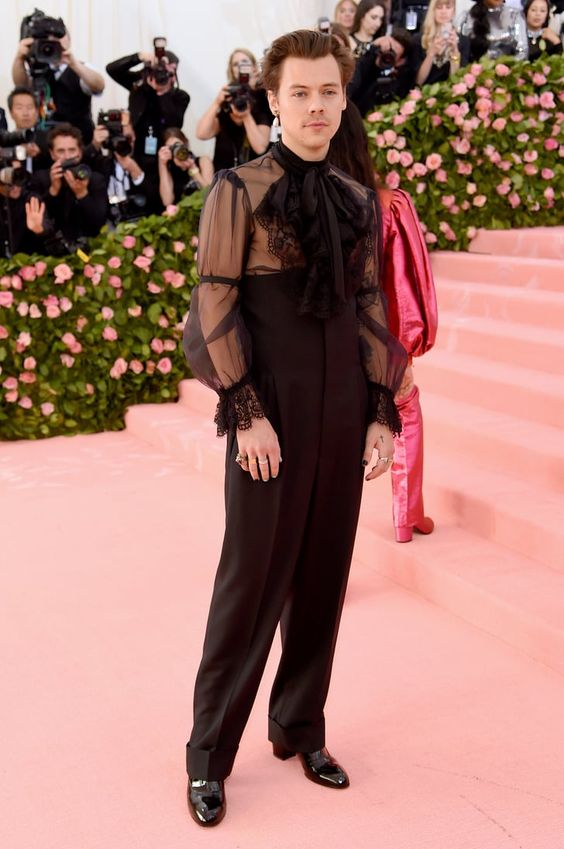 harry styles met gala queer outfit fluid gender