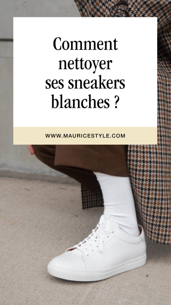 comment nettoyer ses sneakers blanches