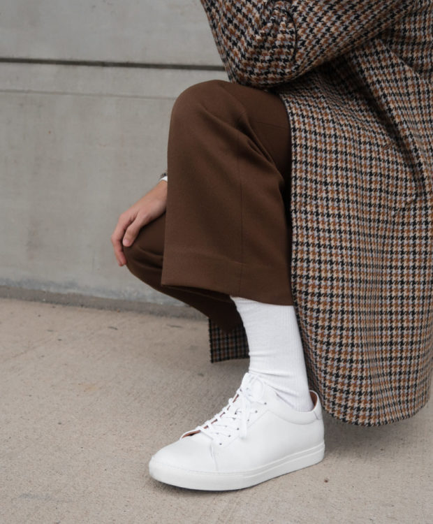 comment nettoyer ses sneakers blanches blog mode homme